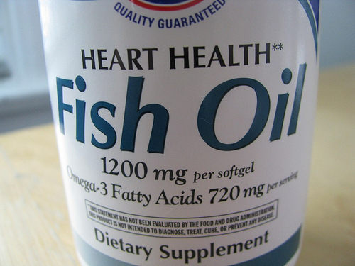 How much fish oil should i take for Fish oil substitute